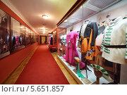 Выставка театральных костюмов в театре Вахтангова в Москве (2012 год). Редакционное фото, фотограф Losevsky Pavel / Фотобанк Лори