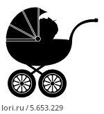 Купить «Коляска с ребенком», иллюстрация № 5653229 (c) Мастепанов Павел / Фотобанк Лори