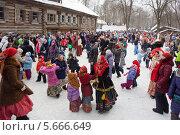 Купить «Масленица, народные гулянья», фото № 5666649, снято 20 июня 2019 г. (c) Igor Lijashkov / Фотобанк Лори