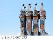 Дом Батло в Барселоне. Стоковое фото, фотограф Светлана Шерлыгина / Фотобанк Лори