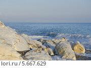 Белые скалы Цандрипш. Абхазия. Стоковое фото, фотограф Сергей / Фотобанк Лори