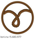 Купить «Петля из веревки», иллюстрация № 5683977 (c) Анна Павлова / Фотобанк Лори