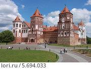 Мирский замок (2012 год). Стоковое фото, фотограф Дмитрий Емушинцев / Фотобанк Лори