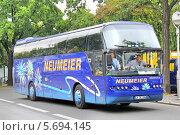 Купить «Автобус Neoplan N1116 Cityliner. Берлин. Германия», фото № 5694145, снято 11 сентября 2013 г. (c) Art Konovalov / Фотобанк Лори