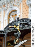 Большой Санкт-Петербургский государственный цирк (цирк Чинизелли), фрагмент (2014 год). Редакционное фото, фотограф Валерия Попова / Фотобанк Лори