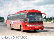 Купить «Автобус Kia Granbird», фото № 5701005, снято 14 июня 2008 г. (c) Art Konovalov / Фотобанк Лори
