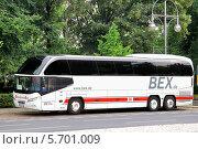 Купить «Автобус Neoplan N1217HDC Cityliner», фото № 5701009, снято 12 сентября 2013 г. (c) Art Konovalov / Фотобанк Лори