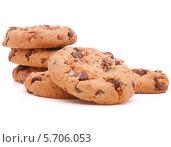 Купить «Шоколадное домашнее печенье», фото № 5706053, снято 13 июня 2013 г. (c) Natalja Stotika / Фотобанк Лори