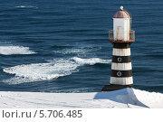 Купить «Петропавловский маяк. Камчатка», фото № 5706485, снято 13 марта 2014 г. (c) А. А. Пирагис / Фотобанк Лори
