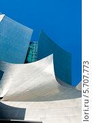 The Walt Disney Concert Hall (Концертный зал имени Уолта Диснея). Лос-Анжелес. США (2011 год). Редакционное фото, фотограф E. O. / Фотобанк Лори