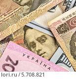 Купить «Украинские купюры», фото № 5708821, снято 7 марта 2014 г. (c) Алексей Сергеев / Фотобанк Лори