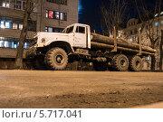 Лесовоз (2012 год). Редакционное фото, фотограф Ярослав Грицан / Фотобанк Лори