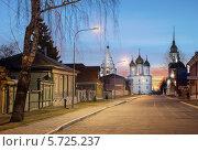 Рассвет на Соборной площади (2014 год). Редакционное фото, фотограф Алексей Сергевич / Фотобанк Лори