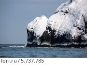 Купить «Заснеженный мыс, остров Шикотан, Южные Курилы», фото № 5737785, снято 25 января 2012 г. (c) Ирина Яровая / Фотобанк Лори