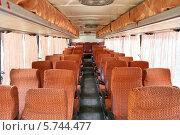 Купить «Салон междугороднего автобуса», фото № 5744477, снято 26 июня 2009 г. (c) Art Konovalov / Фотобанк Лори