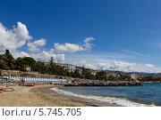 Морской пейзаж в Сан-Ремо (2013 год). Редакционное фото, фотограф Светлана Пальцева / Фотобанк Лори