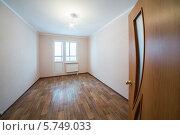 Купить «Пустая комната без мебели», фото № 5749033, снято 10 декабря 2012 г. (c) Losevsky Pavel / Фотобанк Лори