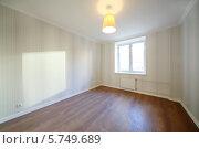 Купить «Светлая пустая комната», фото № 5749689, снято 23 ноября 2012 г. (c) Losevsky Pavel / Фотобанк Лори
