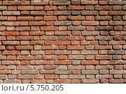 Кирпичная стена. Стоковое фото, фотограф Сергей Тарасов / Фотобанк Лори