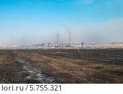 Краснокаменская ТЭЦ, фото № 5755321, снято 29 марта 2014 г. (c) Геннадий Соловьев / Фотобанк Лори