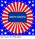 Купить «Штат Южная Дакота», иллюстрация № 5756021 (c) Мастепанов Павел / Фотобанк Лори