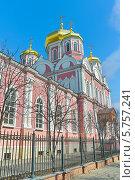 Купить «Православный кафедральный собор, Орёл, Россия», фото № 5757241, снято 30 марта 2014 г. (c) Ласточкин Евгений / Фотобанк Лори