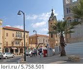Купить «Вид города Яффо, Израиль», фото № 5758501, снято 5 октября 2012 г. (c) Ирина Борсученко / Фотобанк Лори