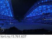 """Церемония открытия XXII зимних Олимпийских игр в Сочи 7 февраля 2014, """"Голубь мира"""" Редакционное фото, фотограф Алексей Гусев / Фотобанк Лори"""