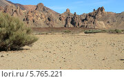 Купить «Национальный парк Тейде. Скалы де Гарсия», видеоролик № 5765221, снято 24 декабря 2013 г. (c) Roman Likhov / Фотобанк Лори