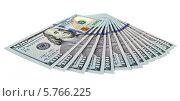Купить «Доллары США изолированы на белом фоне», фото № 5766225, снято 22 сентября 2019 г. (c) FotograFF / Фотобанк Лори