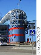 Купить «Чижовка-арена, Минск, Беларусь», фото № 5766613, снято 29 марта 2014 г. (c) Марина Шатерова / Фотобанк Лори