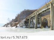 Железнодорожный мост. Стоковое фото, фотограф Ева Наделяева / Фотобанк Лори