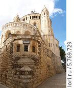 Израиль, Иерусалим.  Аббатство Успения Девы Марии на горе Сион (2012 год). Стоковое фото, фотограф Ирина Борсученко / Фотобанк Лори