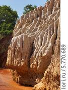 Купить «Вьетнам, Красный ручей (Fairy stream)», фото № 5770689, снято 23 января 2014 г. (c) макаров виктор / Фотобанк Лори