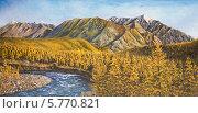 Купить «Осенняя тайга», иллюстрация № 5770821 (c) Олег Хархан / Фотобанк Лори