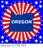 Купить «Штат Орегон», иллюстрация № 5775157 (c) Мастепанов Павел / Фотобанк Лори