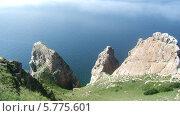 "Мыс ""Три брата"" на озере Байкал. Стоковое фото, фотограф Екатерина / Фотобанк Лори"