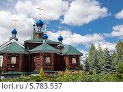 Богоявленский храм в Бородино. Стоковое фото, фотограф Виктория Чеканова / Фотобанк Лори