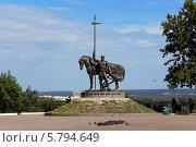 Купить «Памятник «Первопоселенец», город Пенза», фото № 5794649, снято 21 мая 2012 г. (c) Александр Самолетов / Фотобанк Лори