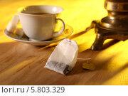 Чайный натюрморт. Стоковое фото, фотограф Андрей Кротов / Фотобанк Лори