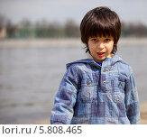 Купить «Портрет мальчика в синей куртке», фото № 5808465, снято 25 апреля 2012 г. (c) Astroid / Фотобанк Лори