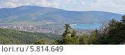 Купить «Курорт Кабардинка, панорама», эксклюзивное фото № 5814649, снято 10 июля 2020 г. (c) Игорь Архипов / Фотобанк Лори