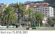 Купить «Город Сан Себастьян столица острова Ла Гомера. Канарские острова», видеоролик № 5818381, снято 15 апреля 2013 г. (c) Roman Likhov / Фотобанк Лори