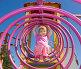 Счастливая девочка на игровой площадке, фото № 5820429, снято 27 августа 2011 г. (c) Олег Хархан / Фотобанк Лори