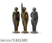 Купить «Солдатики СССР», фото № 5832885, снято 13 апреля 2014 г. (c) Сергей Великанов / Фотобанк Лори
