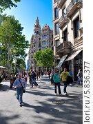 Купить «Барселона», фото № 5836377, снято 18 мая 2010 г. (c) Ольга Гурова / Фотобанк Лори