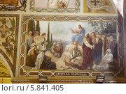 Купить «Подольск, настенная живопись в Троицком соборе», эксклюзивное фото № 5841405, снято 27 мая 2013 г. (c) Дмитрий Неумоин / Фотобанк Лори