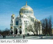 Кронштадтский морской собор (2013 год). Редакционное фото, фотограф Юля С. / Фотобанк Лори