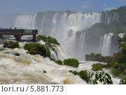 Водопад Игуасу. Бразилия. Стоковое фото, фотограф Рада Тумашкова / Фотобанк Лори