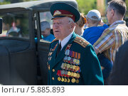 Купить «День Победы в Москве», фото № 5885893, снято 9 мая 2014 г. (c) Okssi / Фотобанк Лори